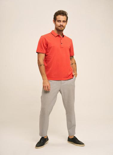 Silk and Cashmere Tişört Kırmızı